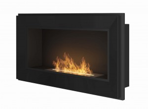 Biokominek SIMPLE fire FRAME 900 czarny
