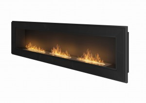 Biokominek SIMPLE fire FRAME 1800 czarny